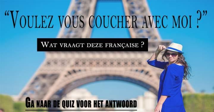 Spreek jij een beetje Frans?