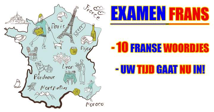 10 Franse woordjes om te vertalen..