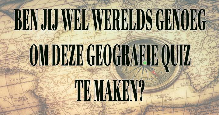 Geografie Quiz